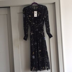 Zara Zodiac Print Dress